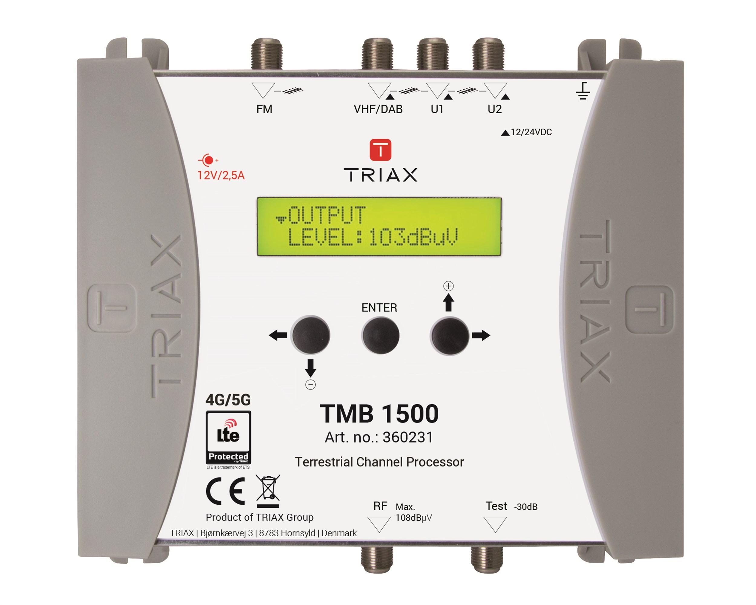Pojačalo/ pretvarač kanala Triax TMB 1500