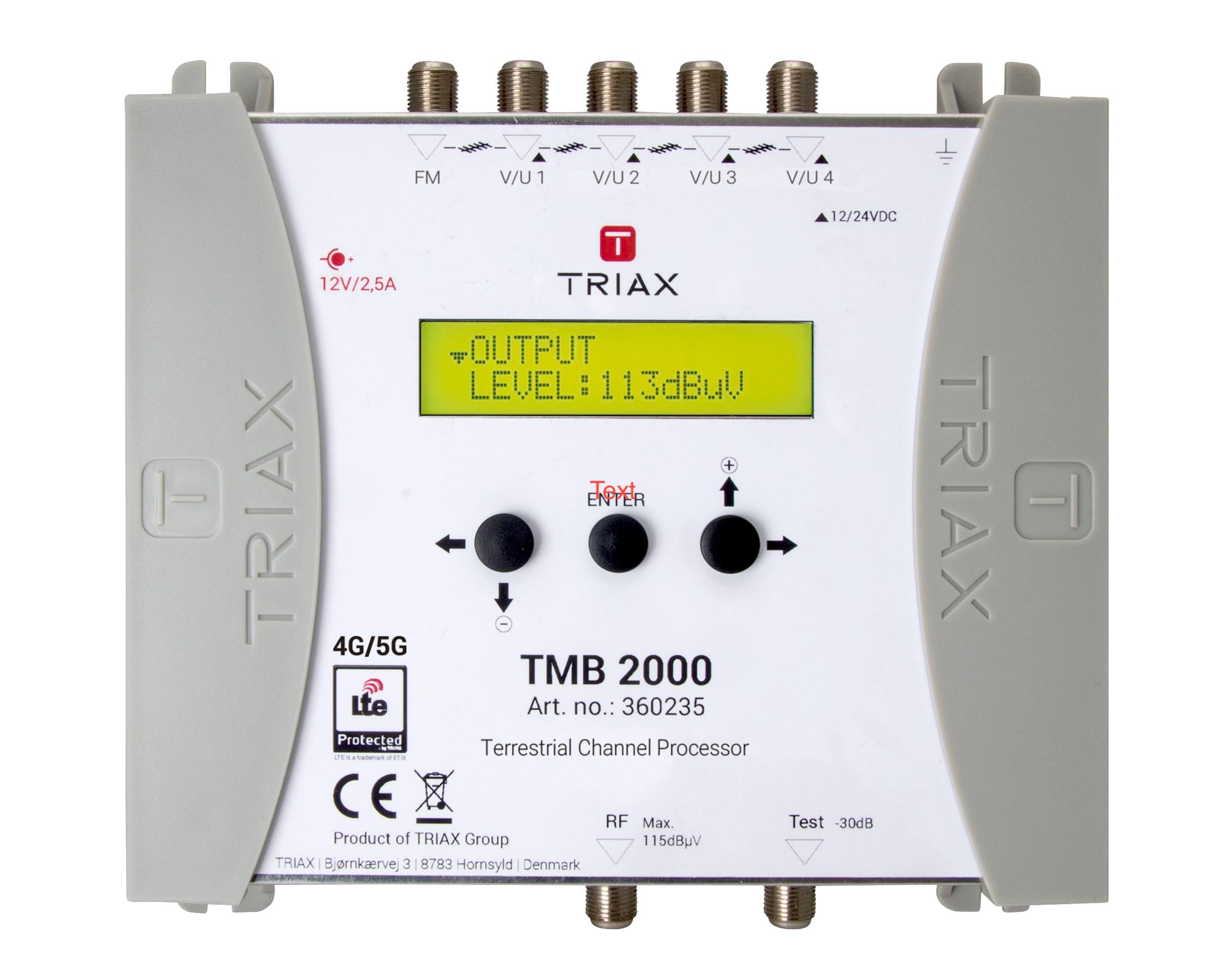 Pojačalo/ pretvarač kanala Triax TMB 2000